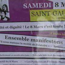 A Saint Gaudens le 8 Mars c'est aussi le 8 Mai :)